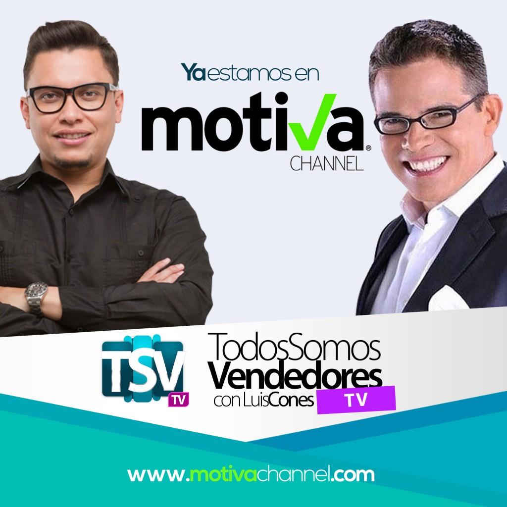 El Conferencista, Motivador y Coach Luis Cones en Motiva Channel de Nelson Bustamante